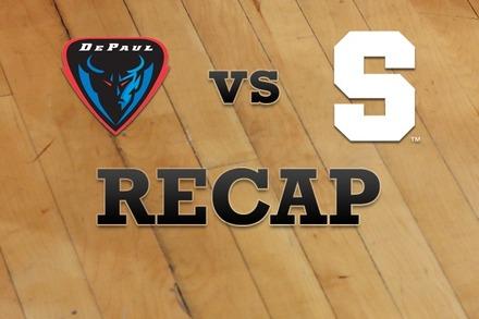 DePaul vs. Syracuse: Recap, Stats, and Box Score
