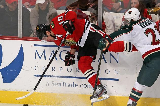 Patrick Sharp Injury: Updates on Blackhawks Center's Status