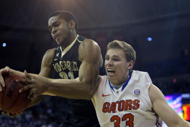 Gators Run Away from Vanderbilt to Clinch Outright League Crown