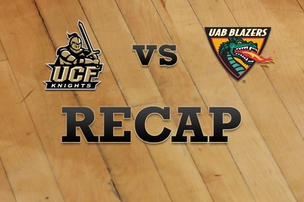 UCF vs. UAB: Recap, Stats, and Box Score