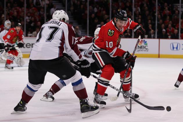 Avs Lose 3-2 as Chicago Blackhawks' Points Streak Continues