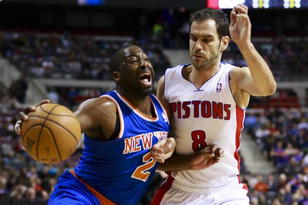 Short-Handed Pistons Undone by Knicks' 3-Point Barrage in Defeat