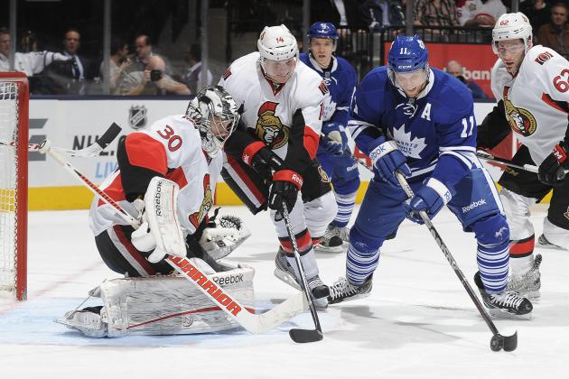 Maple Leafs Hang on to Down Ottawa Senators, Win Battle of Ontario 5-4