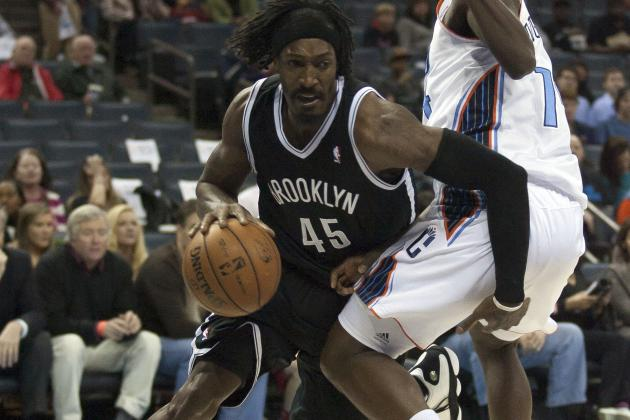 Gerald Wallace Posterizes Michael Kidd-Gilchrist