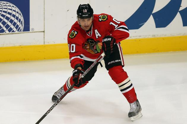 Blackhawks' Sharp, Shaw Injured vs. Avs