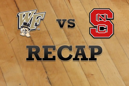 Wake Forest vs. NC State: Recap, Stats, and Box Score