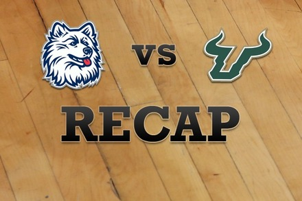 Connecticut vs. South Florida: Recap, Stats, and Box Score