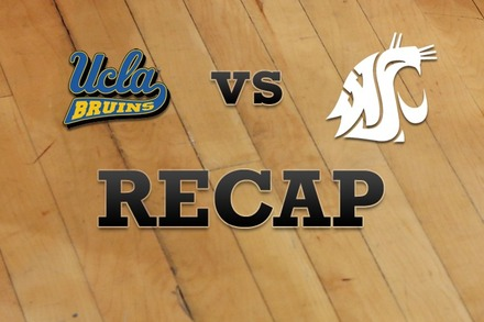 UCLA vs. Washington State: Recap, Stats, and Box Score