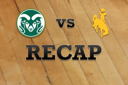 Colorado State vs. Wyoming: Recap, Stats, and Box Score
