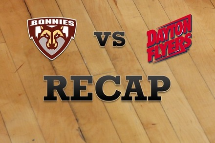 St. Bonaventure vs. Dayton: Recap, Stats, and Box Score