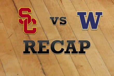USC vs. Washington: Recap, Stats, and Box Score