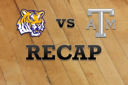 LSU vs. Texas A&M: Recap, Stats, and Box Score