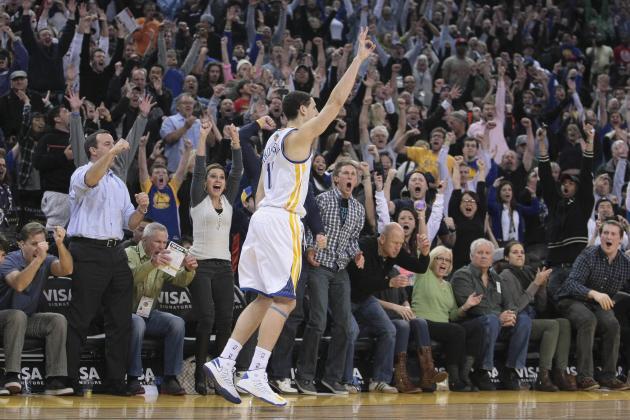 Thompson's Shot Leads Warriors Past Kings, 87-83