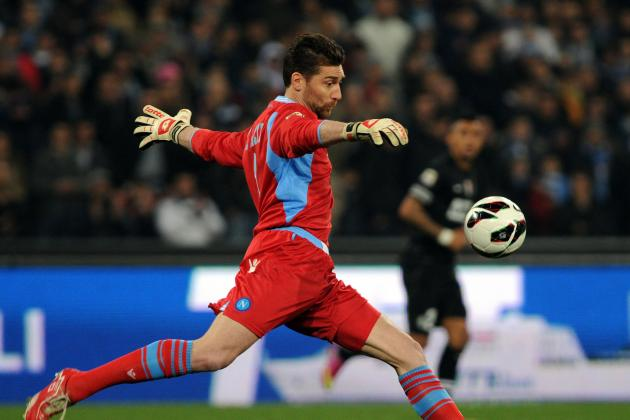 De Sanctis Wants to End Career at Napoli