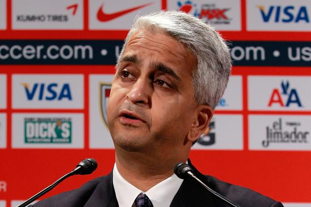 Gulati in Running to Replace Blazer on FIFA Executive Committee