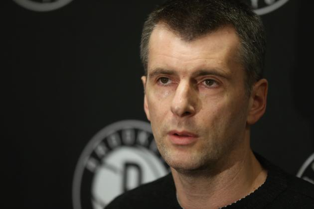 Prokhorov Is 69th on Forbes List