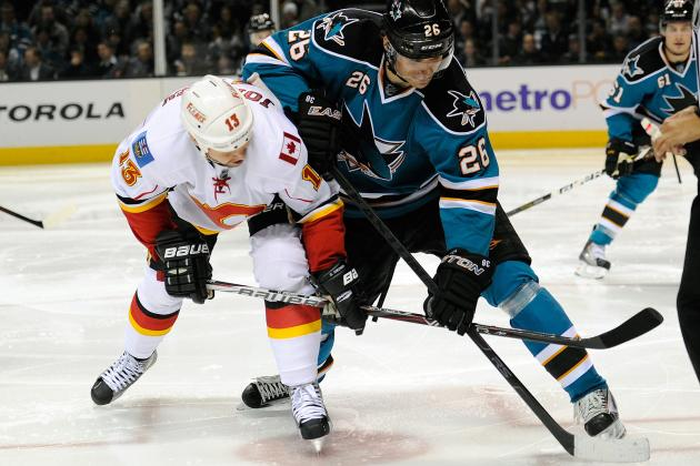 Streaker Hits the Ice During Intermission of Flames-Sharks Game