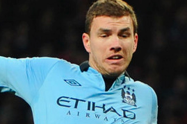 Jurgen Klopp Dismisses Reports Linking Edin Dzeko with Borussia Dortmund