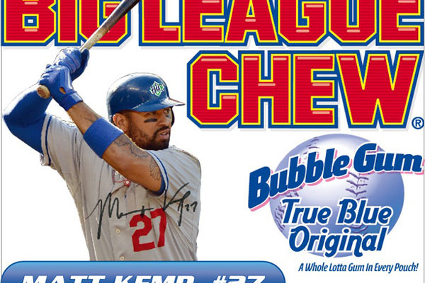 Matt Kemp and Cole Hamels Living the Dream, Images Splash onto Big League Chew