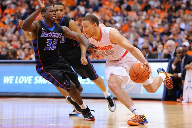 Syracuse Compensates for Shaky Shooting by Going to the Offensive Glass