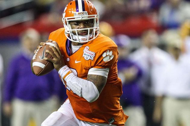 Clemson QB Tajh Boyd Has Sights Set High