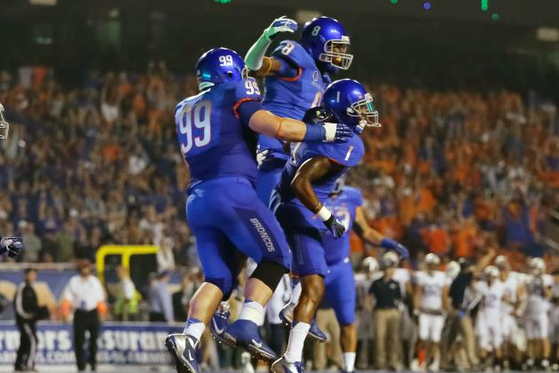 NCAA: Boise State Football Can Wear All-Blue Uniforms