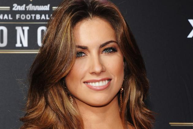 Katherine Webb Poses in Her Underwear
