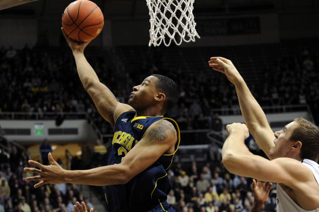 Trash Talk Sparks Michigan's Trey Burke in Second Half
