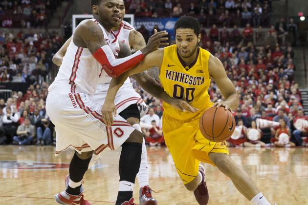 Gophers Senior Welch Playing with Urgency