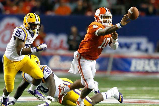 LSU Football: Grading Every Starter's Likely Replacement