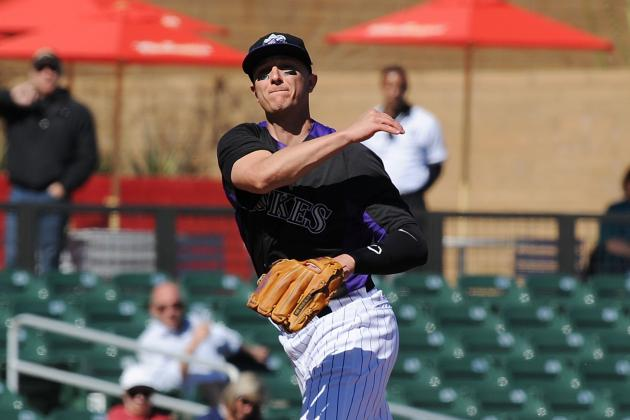 Colorado Rockies Shortstop Troy Tulowitzki Makes Back-to-Back Starts