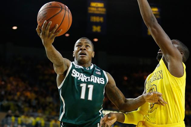 Michigan State Basketball's Keith Appling Recharged, Ready for Wisconsin