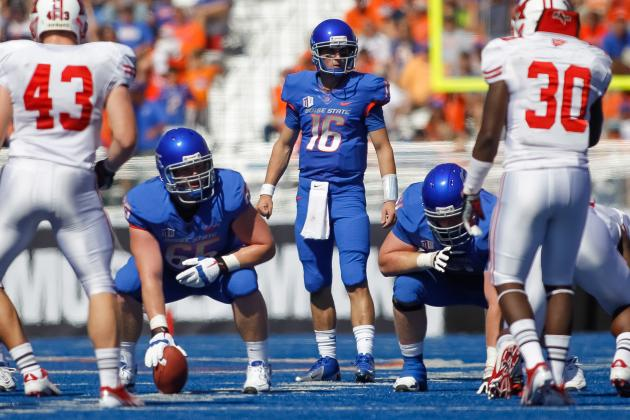 Boise State Football: NCAA Will Allow Boise State to Wear Blue-on-Blue