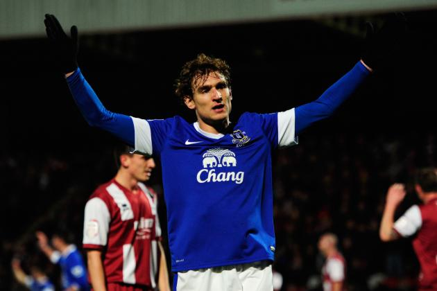 FA Cup Quarter-Final Looming, Jelavic Still the Man for Everton