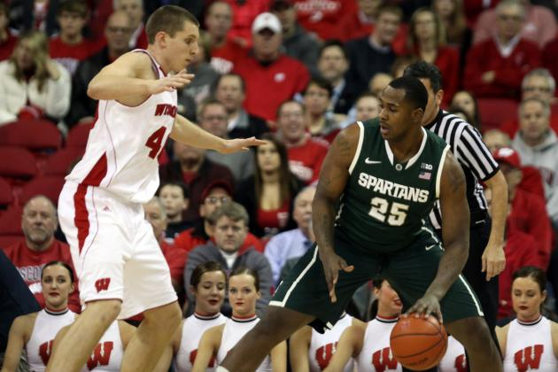 Wisconsin vs. Michigan State: Turnovers and 3-Pointers Key to Matchup