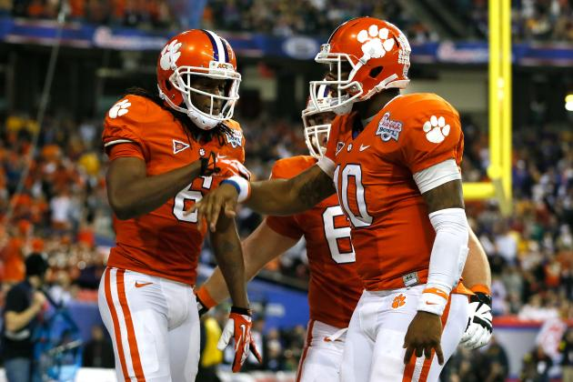 Clemson Football Coach Searching for Offensive Playmakers