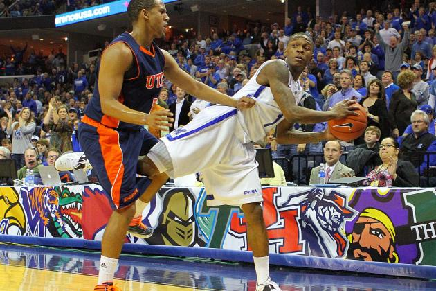 Memphis Tigers hold off UTEP 56-54