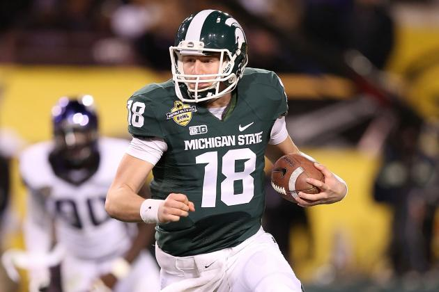 MSU Quarterbacks: Nothing Controversial About It, There's Competition