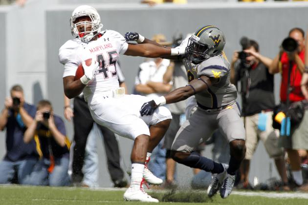 Randy Edsall Wants RB Brandon Ross as an 'Every-Down Guy'