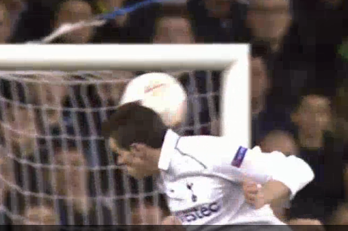 Bale Header Gives Spurs Early Lead