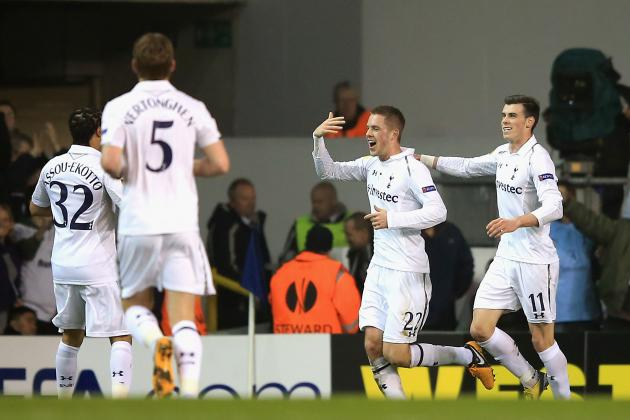Tottenham, Gareth Bale Continue Hot Run, Whip Inter Milan in Europa League