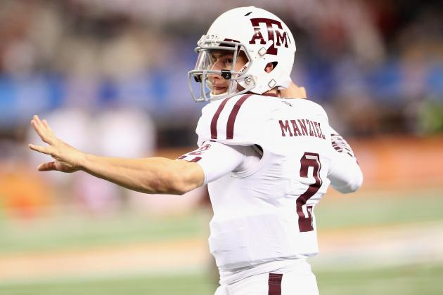 Johnny Football No Sure Bet to Enter '14 NFL Draft