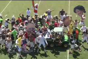 Canes Do the Harlem Shake