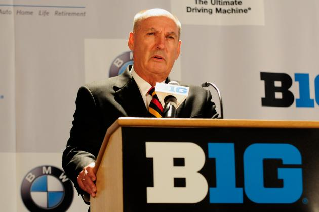 Big Ten Commissioner Jim Delany Is Really Second to None as a College Force