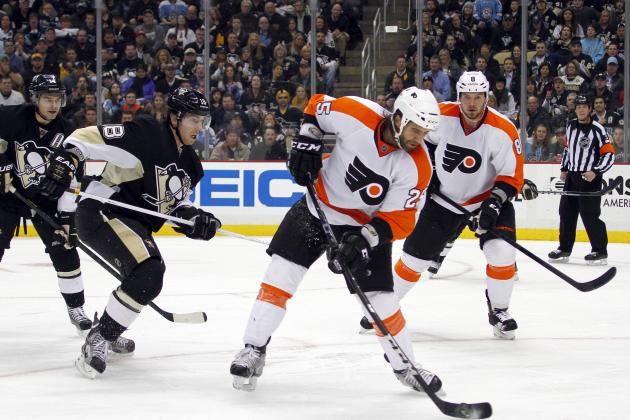 Pittsburgh Penguins vs. Philadelphia Flyers: Live Score, Updates and Analysis
