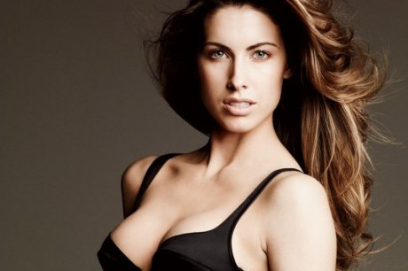 AJ McCarron's Girlfriend Katherine Webb Dons Underwear for Vanity Fair