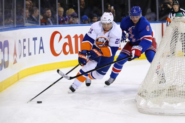 New York Rangers vs. New York Islanders: GameCast