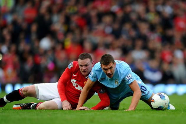 Man United Striker's Exit Depends on Rivals Man City Selling Edin Dzeko