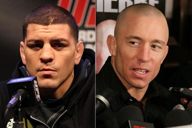UFC 158 Conference Call: Nick Diaz Proves GSP Really Does Have a 'Dark Place'