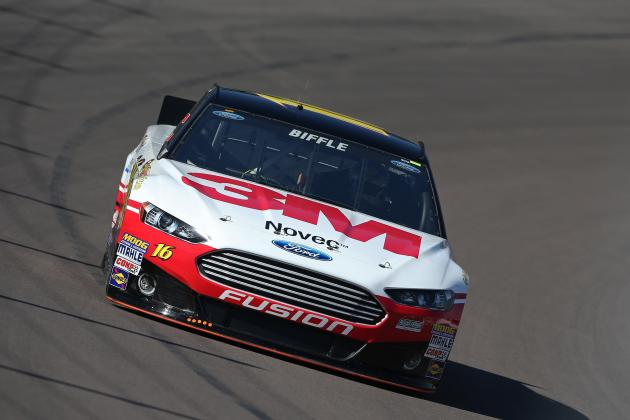 Greg Biffle Fastest in Final NASCAR Test at Las Vegas